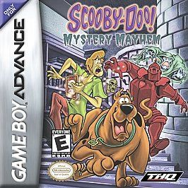 Scooby Doo Mystery Mayhem Nintendo Game Boy Advance, 2003