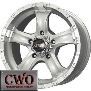 18 Silver MB Chaos 5 Wheels Rims 5x150 5 Lug Toyota Tundra Squoia
