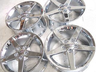 SET 05 06 07 08 09 2010 11 12 ORIGINAL C6 CORVETTE WHEELS NEW CHROME