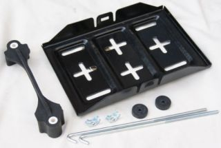battery tray hold down clamp 11 x7 universal r time