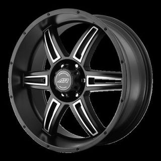 18 Inch Black Wheels Rims Jeep Wrangler Cherokee Ford Ranger 5x4.5