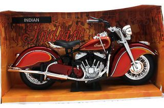 newray 1948 indian motorcycle motor bike 1 6 diecast 49183