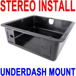 TVC104 Underdash Stereo Install Dash Mounting Kit Mount New Fast Free