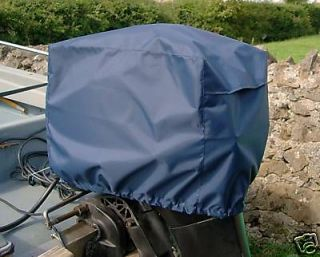 outboard motor boat engine cover 2 5 hp size1 navy