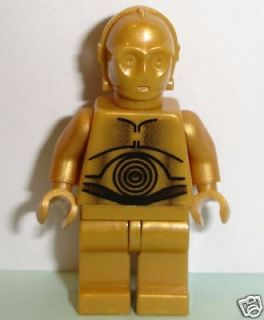 Newly listed Lego Star Wars NEW C 3PO Minifig 10144 Gold C3PO Droid