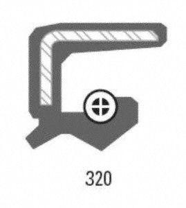 Timken 710316 Manual Trans Input Shaft Seal