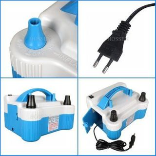 110V 680W Electric Balloon Pump Two Nozzle Balloon Inflator Automatic