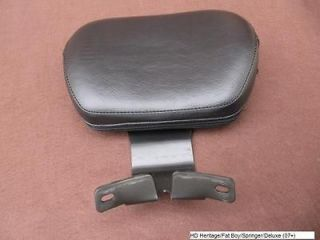 Harley Davidson Heritage / Fat Boy / Springer / Deluxe Driver Backrest