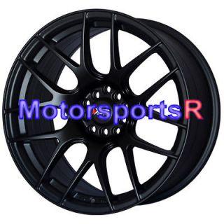 XXR 530 Flat Black Wheels Rims Concave 5x114.3 06 13 Honda Accord EX