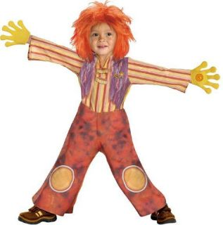 toddler deluxe moe doodlebops halloween costume 2 4t one day