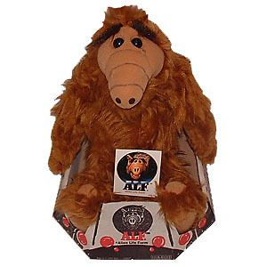 ALF (Alien Life Form) 18 inch Plush Toy .  New Vintage 1986