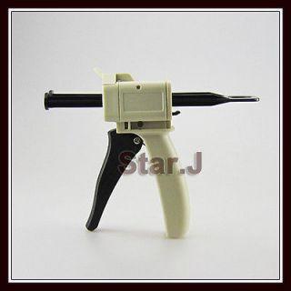 Ratio Dental Impression Mixing Dispenser Dispensing Gun 50ml