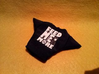 RYBACK FEED ME MORE T shirt 2 for WWE Mattel Figure Elite Basic Cloth