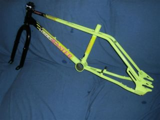1987 haro master team model frame and forks time left