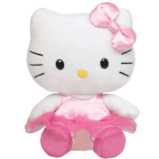 TY BEANIE BABIES Plush By Sanrio 40888 HELLO KITTY BALLERINA PINK TUTU