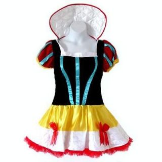 PS 12  Adult Princess Snow White Short Dress Costume, Size Label XXL