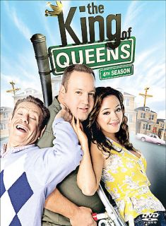 The King of Queens   Season 4 DVD, 2005, 3 Disc Set