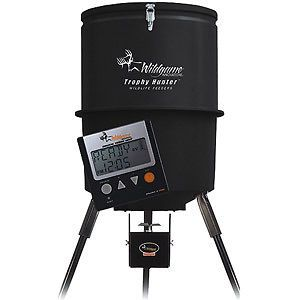Newly listed NEW DIGITAL 300 LB. WILD GAME DEER FEEDER WILDLIFE animal