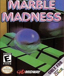 Marble Madness Nintendo Game Boy Color, 1999