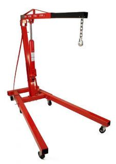 Ton Foldable Engine Hoist Cherry Picker Crane Lift w/ 8 Ton