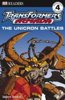 Transformers Armada The Unicron Battles by Andrew Donkin 2004