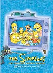 The Simpsons   The Complete Fourth Season DVD, 2004, 4 Disc Set
