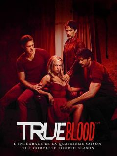 True Blood The Complete Fourth Season DVD, 2012, 5 Disc Set, Canadian