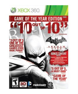Batman Arkham City   Game of the Year Edition Xbox 360, 2012