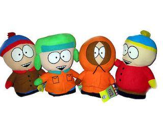 SOUTH PARK Eric Cartman Kenny Kyle Stan Kenny Plush Doll Figure Set 4
