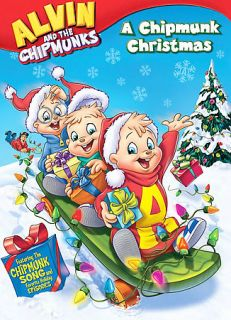 Alvin and the Chipmunks   A Chipmunk Christmas DVD, 2008, Repackaged