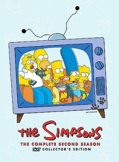 The Simpsons   The Complete Second Season DVD, 2009, 4 Disc Set