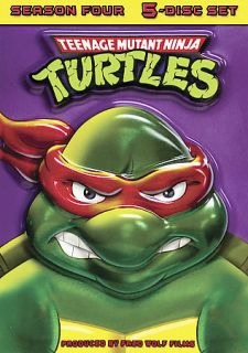 Teenage Mutant Ninja Turtles   Season 4 DVD, 2007, 5 Disc Set