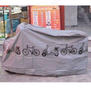 Hot Bicycle Bike Waterproof Cycling Rain Dust Protection Protector