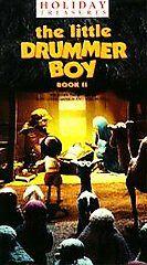 The Little Drummer Boy Book 2 VHS, 1990