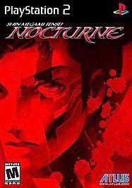 Shin Megami Tensei Nocturne Sony PlayStation 2, 2004