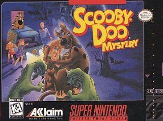 Scooby Doo Mystery Super Nintendo, 1995