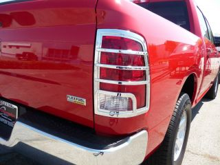 DODGE RAM 1500 TRUCK 2009   2011 TFP ABS CHROME TAIL LIGHT COVER