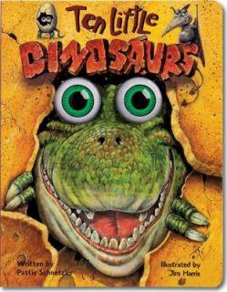 Ten Little Dinosaurs by Pattie L. Schnetzler 2000, Board Book