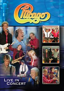 Chicago Live in Concert DVD, 2011