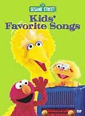 Sesame Street   Kids Favorite Songs (DVD, 2001) (DVD, 2001)