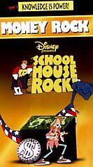 Schoolhouse Rock   Money Rock (VHS, 199