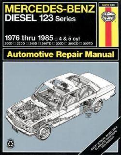 Mercedes Benz Diesel 123 Series 1976 Thru 1985   4 and 5 Cyl No. 697