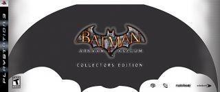 Batman Arkham Asylum Collectors Edition Sony Playstation 3, 2009