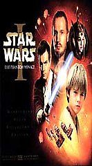 Star Wars Episode I The Phantom Menace VHS, 2000, Widescreen Collector