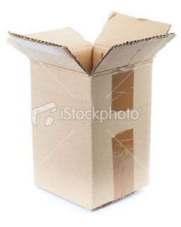 stock photo 10851584 empty cardboard box