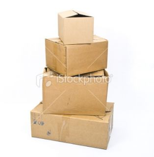 stock photo 12094444 stack of cardboard box