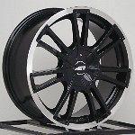 16 Inch Wheels Rims Black Honda Civic Fit Scion XB XA Nissan Cube 4
