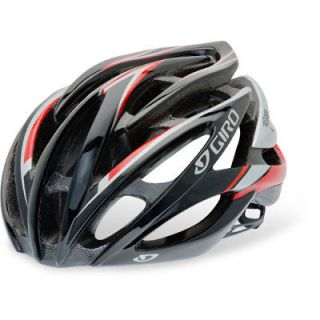 Giro Atmos Road Bike Cycling Helmet   Red / Silver   Medium