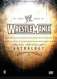 Newly listed WWE WrestleMania   The Complete Anthology 1985 2005