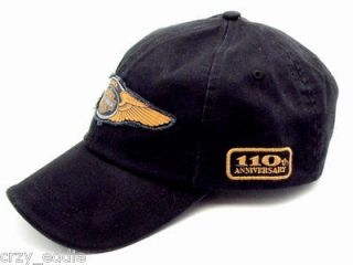 HARLEY DAVIDSON 110TH ANNIVERSARY LOGO BALL CAP **** HAT